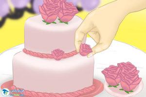 13 طرزساخت گلهای تزئینی با گام پیست