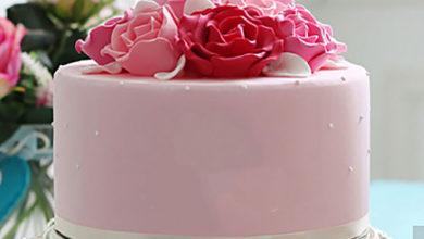 Photo of طرز ساخت گل رز با گام پیست برای تزئین کیک