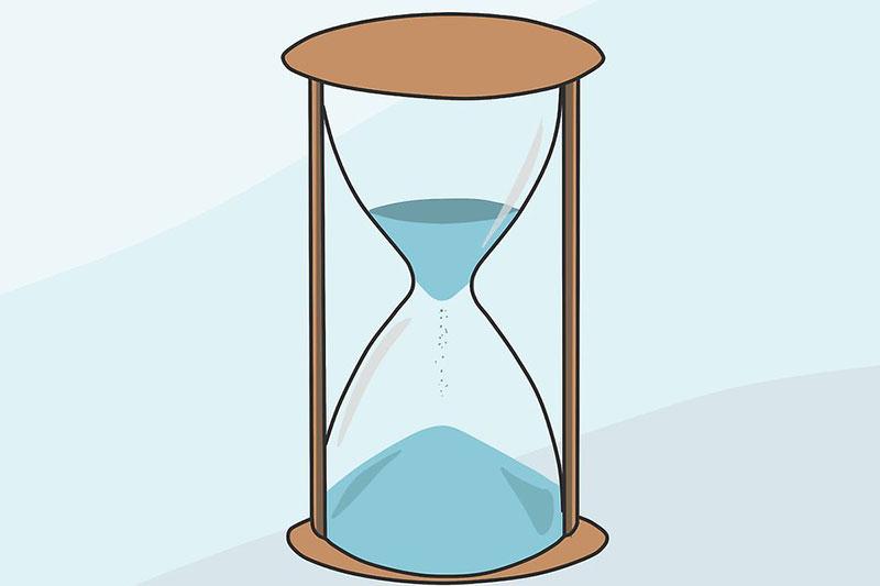 16 نحوه طراحی و نقاشی ساعت شنی