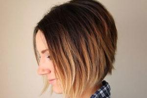 2 رنگ کردن موی کوتاه به روش آمبره
