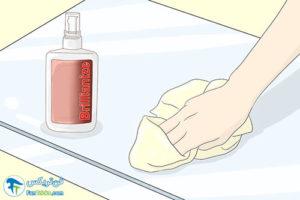 2 اصول شستن و تمیز کردن وسایل آکریلیک