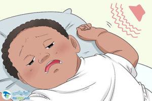 2 آموزش خوابیدن به کودکان دوقلو