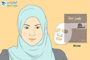 2 انتخاب و استفاده از ماسک ورقه ای شیت