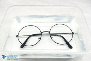 3 تمیز کردن پد بینی عینک