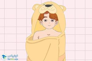 3 افزایش اشتیاق کودک به حمام