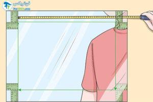 3 طرز نورپردازی پس زمینه آینه