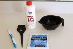 3 رنگ کردن موی کوتاه به روش آمبره