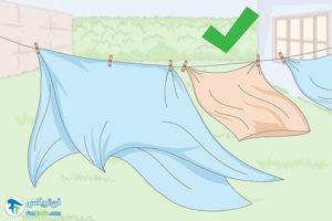 3 شستن و مراقبت از لباس و پارچه فلانل