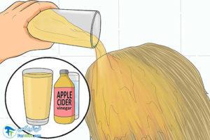 4 رفع بوی مواد فرکننده موها
