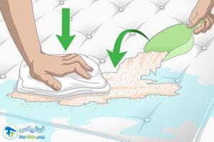 4 نحوه خشک کردن تشکچه نم دار