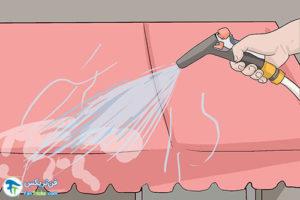 4 شستشو و تمیز کردن انواع سایبان