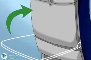 5 حفظ خونسردی هنگام تکان شدید هواپیما