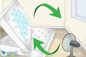 5 نحوه خشک کردن تشکچه نم دار