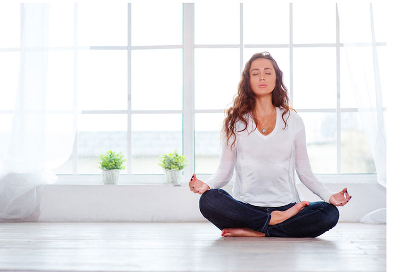 6 انجام حرکات یوگا هنگام سرماخوردگی