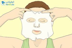7 انتخاب و استفاده از ماسکهای شیت