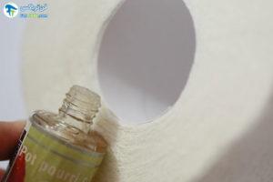 1 ساخت بوگیر دستشویی با دستمال رولی