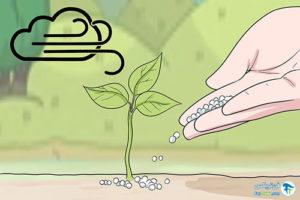 1 افزایش کیفیت خاک با استفاده از کود اوره
