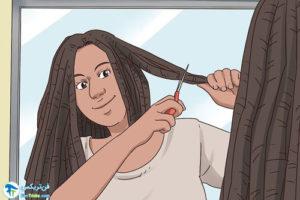 1 طرز باز کردن بافت دردلاک مو