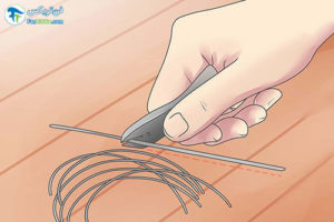 1 طرز ساخت پیرسینگ لب در منزل