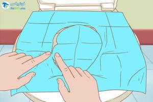 1 اصول استفاده از روکش توالت فرنگی