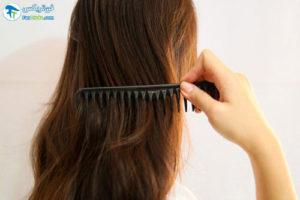 2 فر کردن مو با نوار کاغذی