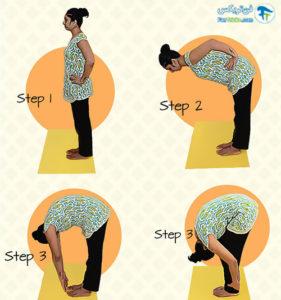 2 حرکات یوگا برای افزایش رشد مو