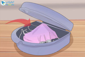 3 نحوه تمیز کردن و مراقبت از نگهدارنده دندان