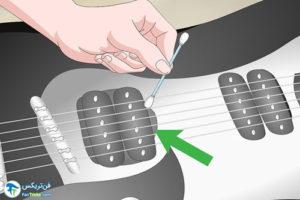 3 جلوگیری از خوردگی اجزای گیتار