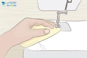 3 طرز دوخت نوار بهداشتی پارچه ای