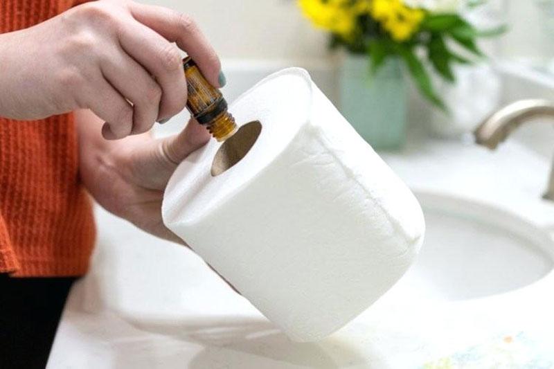 3 ساخت بوگیر دستشویی با دستمال رولی