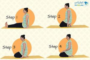 3 حرکات یوگا برای افزایش رشد مو