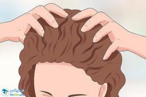 3 نحوه مرطوب کردن پوست سر