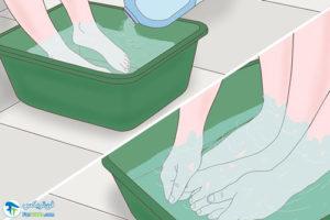 4 از بین بردن ماسه های چسبیده به لباس