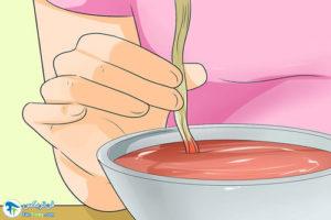 4 روش خانگی رنگ کردن موهای دکلره
