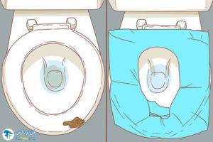 4 اصول استفاده ازروکش توالتفرنگی