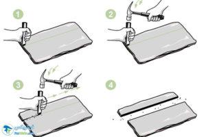 4 نحوه برش دادن تخته سنگ