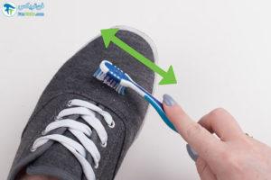 5 اصول شستن کفشهای کالج