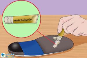 5 از بین بردن صدای کفی ارتوتیک کفش
