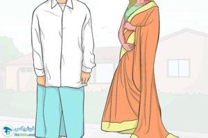 5 طرز پوشیدن لباس در کشور هند