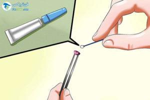 6 طرز ساخت پیرسینگ لب در منزل
