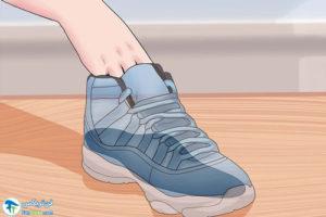 6 از بین بردن صدای کفی ارتوتیک کفش
