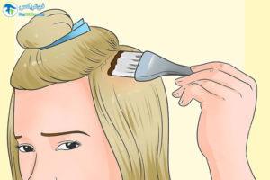 8 روش خانگی رنگکردن موهایدکلره
