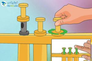 9 طرزروغن کاری سازترومپت
