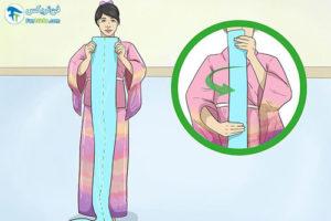 9 آموزش پوشیدن یوکاتا