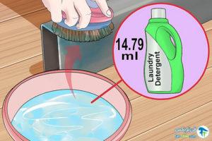 1 تمیز کردن سطوح گالوانیزه