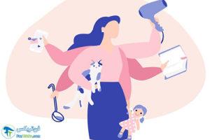 1 مقابله با حس زده شدن از مادری