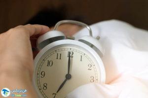 1 ضرر داشتن دیر بیدار شدن از خواب