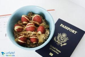 1 طرز تهیه صبحانه برای سفر هوایی