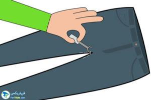 1 اصول دوخت فاق برای شلوار