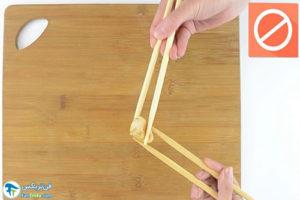 11 اصول غذاخوردن باچاپستیک